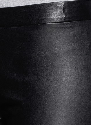 Detail View - Click To Enlarge - VINCE - Lamb leather leggings
