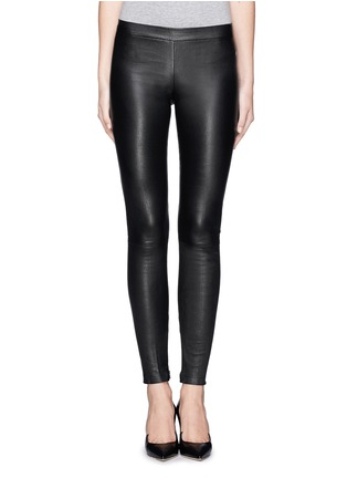 Main View - Click To Enlarge - Vince - Lamb leather leggings