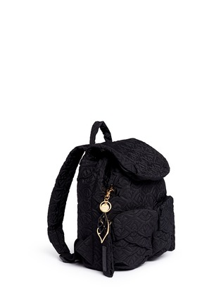 Front View - Click To Enlarge - See by Chloé - 'Bisou' small logo stitch backpack