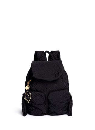Main View - Click To Enlarge - See by Chloé - 'Bisou' small logo stitch backpack