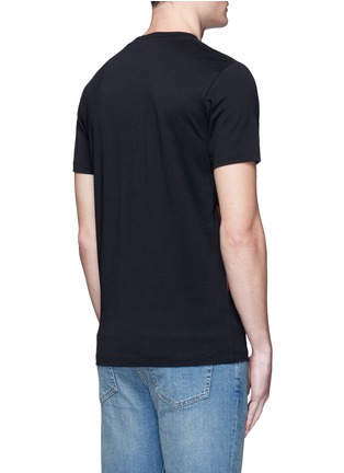 Back View - Click To Enlarge - McQ Alexander McQueen - Mix logo print cotton T-shirt
