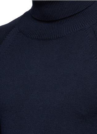 Detail View - Click To Enlarge - SAINT LAURENT - Turtleneck wool sweater