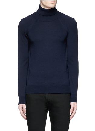 Main View - Click To Enlarge - SAINT LAURENT - Turtleneck wool sweater