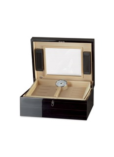 Agresti Ebony wood cigar humidor