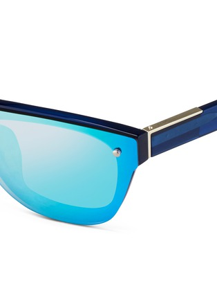 Detail View - Click To Enlarge - 3.1 Phillip Lim - Mounted lens acetate D-frame sunglasses