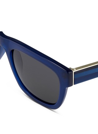 Detail View - Click To Enlarge - 3.1 Phillip Lim - Acetate square sunglasses