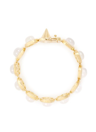 Main View - Click To Enlarge - Eddie Borgo - Gemstone dome bracelet