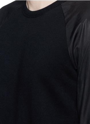 Detail View - Click To Enlarge - rag & bone - 'Flint' reverse back sweatshirt