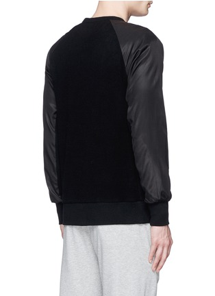 Back View - Click To Enlarge - rag & bone - 'Flint' reverse back sweatshirt