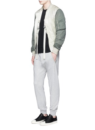 Figure View - Click To Enlarge - rag & bone - 'Flint' reverse back sweatshirt
