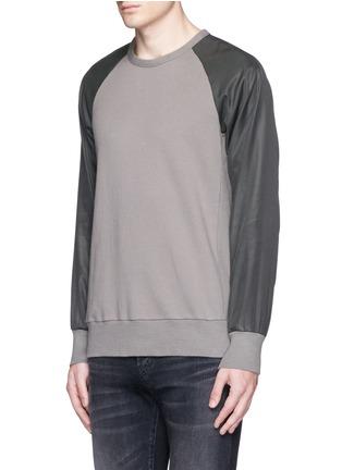 Front View - Click To Enlarge - RAG & BONE - 'Flint' reverse back sweatshirt