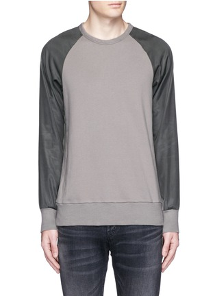 Main View - Click To Enlarge - RAG & BONE - 'Flint' reverse back sweatshirt