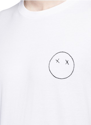 Detail View - Click To Enlarge - rag & bone - 'Sour Face' embroidery T-shirt