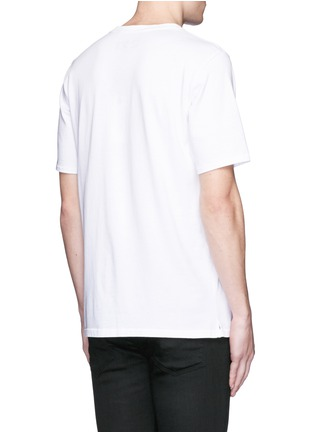 Back View - Click To Enlarge - rag & bone - 'Sour Face' embroidery T-shirt