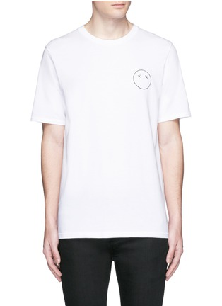 Main View - Click To Enlarge - rag & bone - 'Sour Face' embroidery T-shirt