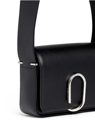 Detail View - Click To Enlarge - 3.1 Phillip Lim - Alix' mini paperclip flap leather shoulder bag