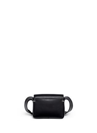 Back View - Click To Enlarge - 3.1 Phillip Lim - Alix' mini paperclip flap leather shoulder bag
