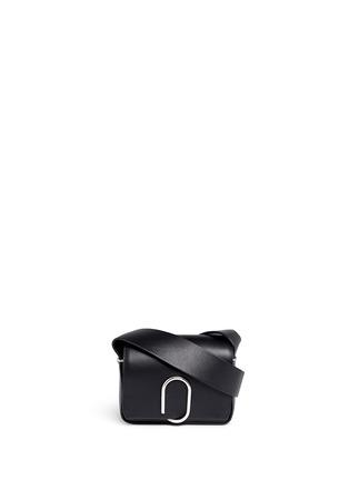 Main View - Click To Enlarge - 3.1 Phillip Lim - Alix' mini paperclip flap leather shoulder bag