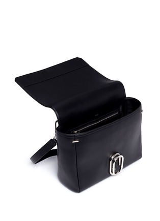 Detail View - Click To Enlarge - 3.1 Phillip Lim - 'Alix' medium paperclip flap leather messenger bag