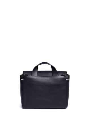 Back View - Click To Enlarge - 3.1 Phillip Lim - 'Alix' medium paperclip flap leather messenger bag