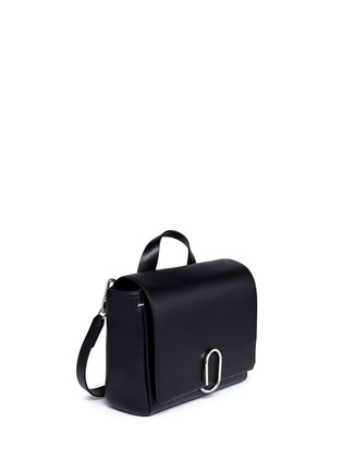 Front View - Click To Enlarge - 3.1 Phillip Lim - 'Alix' medium paperclip flap leather messenger bag