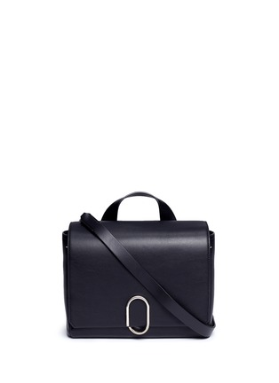 Main View - Click To Enlarge - 3.1 Phillip Lim - 'Alix' medium paperclip flap leather messenger bag