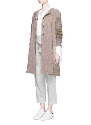 Figure View - Click To Enlarge - By Walid - 'Gigi' one of a kind piano shawl silk coat