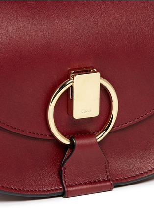Detail View - Click To Enlarge - CHLOÉ - 'Goldie' small leather satchel