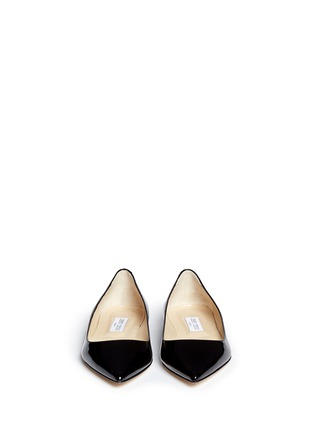 Figure View - Click To Enlarge - Jimmy Choo - 'Alina' patent leather flats