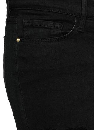 Detail View - Click To Enlarge - Frame Denim - 'Le Skinny de Jeanne' slim fit jeans