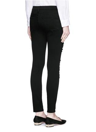 Back View - Click To Enlarge - Frame Denim - 'Le Skinny de Jeanne' slim fit jeans