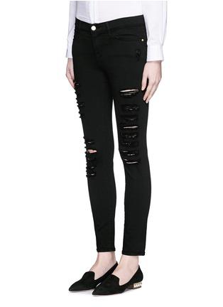 Front View - Click To Enlarge - Frame Denim - 'Le Skinny de Jeanne' slim fit jeans