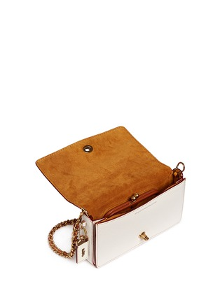 Detail View - Click To Enlarge - Coach - 'Dinky' glovetanned leather rivet crossbody bag
