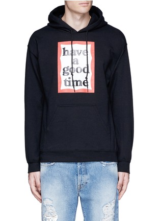 Main View - Click To Enlarge - Have A Good Time - Hoodie