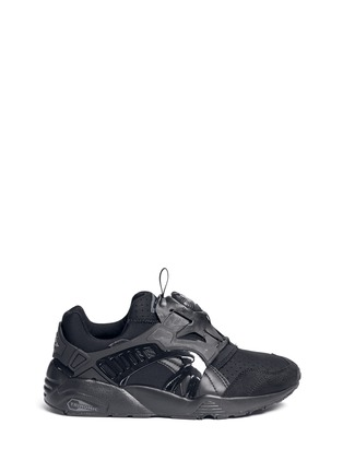 Main View - Click To Enlarge - Puma - 'Trinomic Disc Blaze' slip-on sneakers