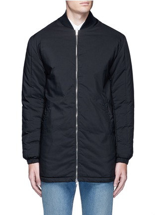Main View - Click To Enlarge - McQ Alexander McQueen - Long bomber jacket