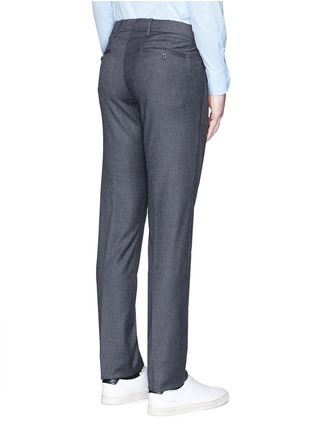 Back View - Click To Enlarge - Lardini - Slim fit wool pants