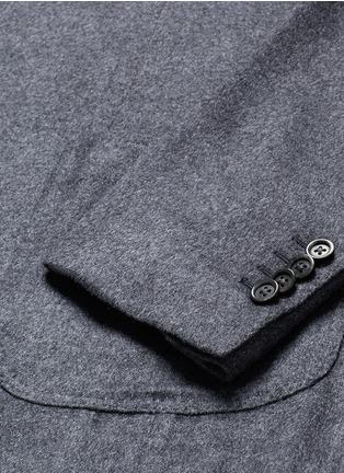 - Lardini - 'Leisure' silk cashmere flannel blazer