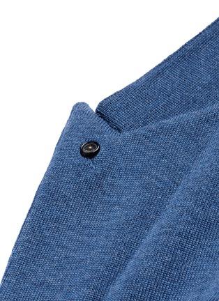 Detail View - Click To Enlarge - Lardini - Wool knit soft blazer