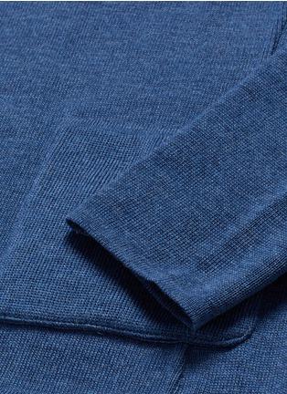 - Lardini - Wool knit soft blazer