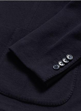 - Lardini - Cotton-cashmere jersey soft blazer