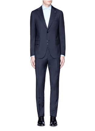 Main View - Click To Enlarge - Lardini - 'Archilight' wool suit