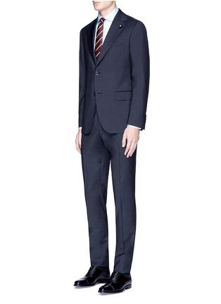 Figure View - Click To Enlarge - Lardini - 'Archilight' wool suit