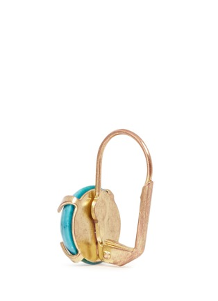 Back View - Click To Enlarge - Isabel Marant - 'Jacques' stone cabochon drop earrings