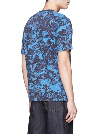 Back View - Click To Enlarge - KENZO - 'Cartoon' print T-shirt