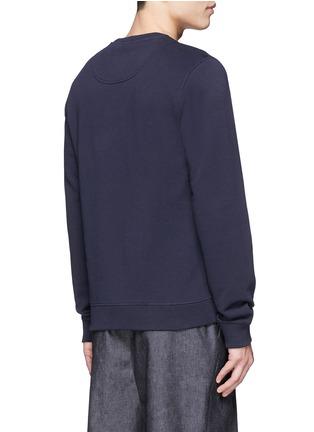 Back View - Click To Enlarge - KENZO - Big eye appliqué sweatshirt