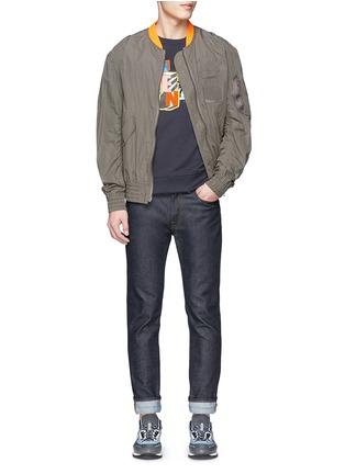 Figure View - Click To Enlarge - KENZO - Mix badge print sweatshirt