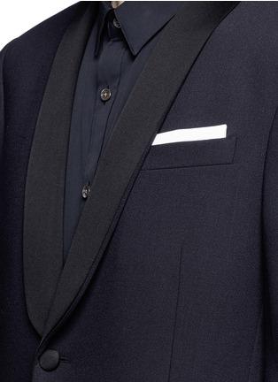Detail View - Click To Enlarge - Neil Barrett - Satin lapel tuxedo blazer