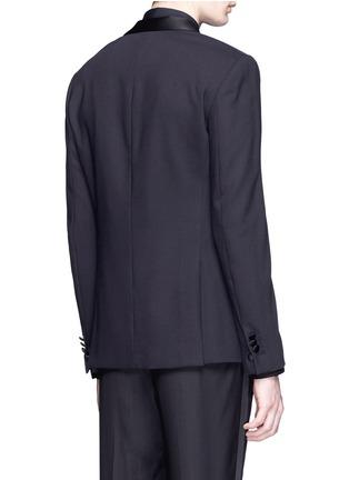 Back View - Click To Enlarge - Neil Barrett - Satin lapel tuxedo blazer