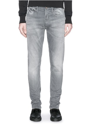 Detail View - Click To Enlarge - DENHAM - 'Shank' carrot fit jeans